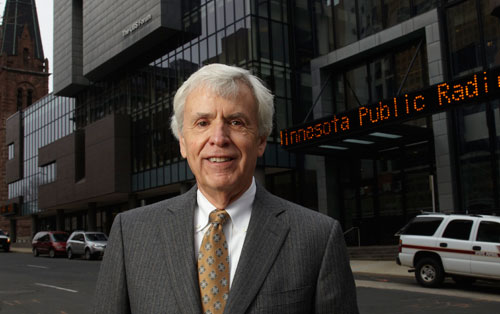 Portrait of American Public Media CEO Bill Kling in St. Paul, Minn.