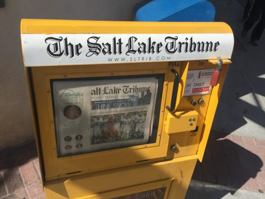The Salt Lake Tribune wants to go nonprofit in a new and unproven way, and now the IRS will have its say