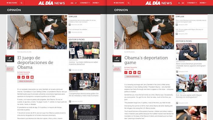 How Al Día, Philadelphia's Spanish-language newspaper, is