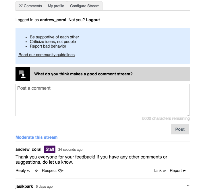 How The Washington Post plans to use Talk, The Coral Project's new commenting platform