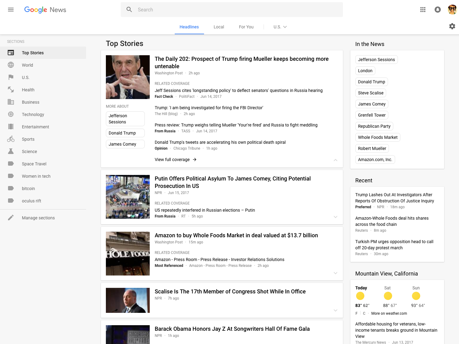Google News gets a makeover, joins the rest in a redesigned look