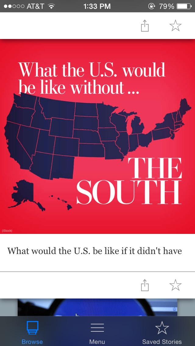 Washington Post app