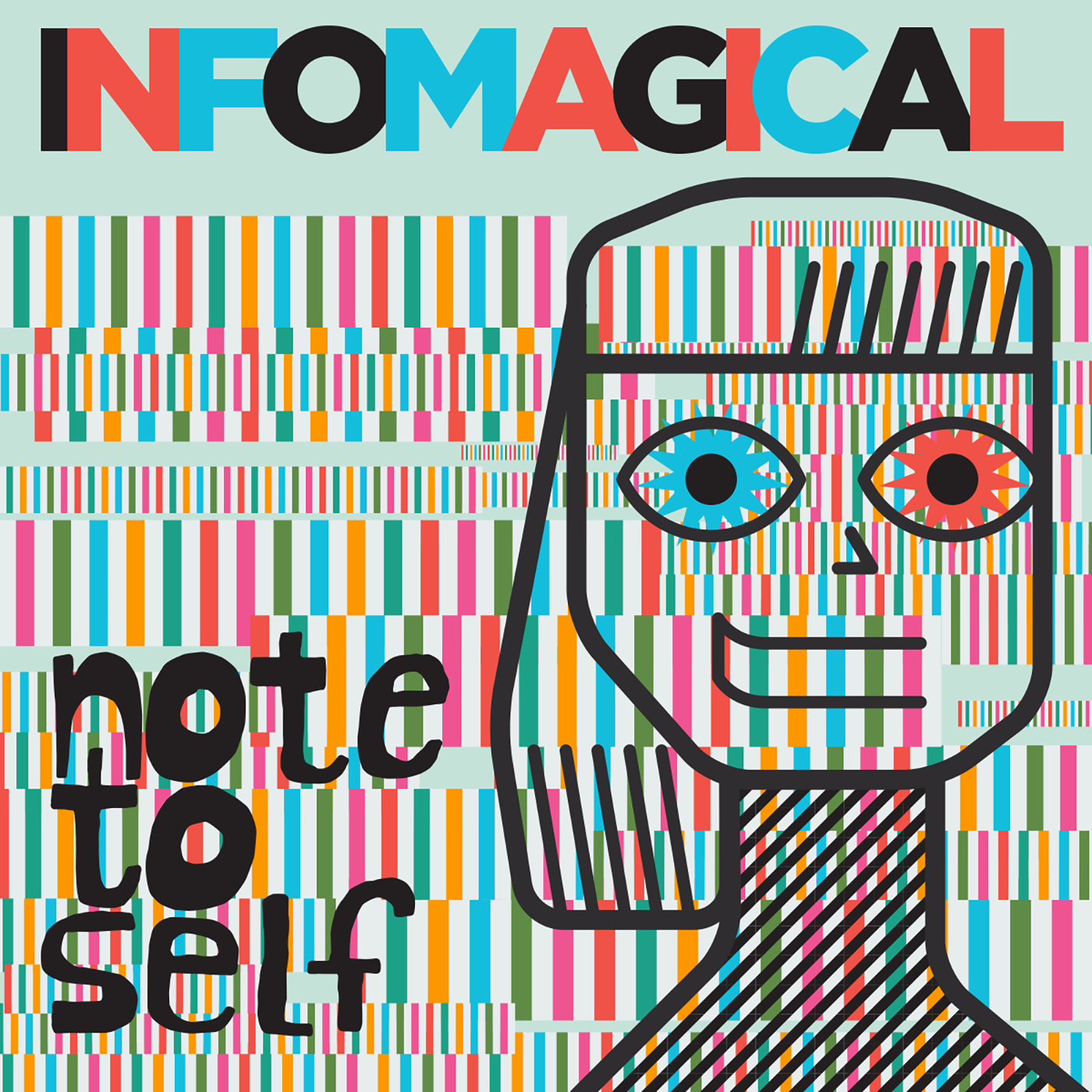 Infomagical Note to Self WNYC square art John Hersey