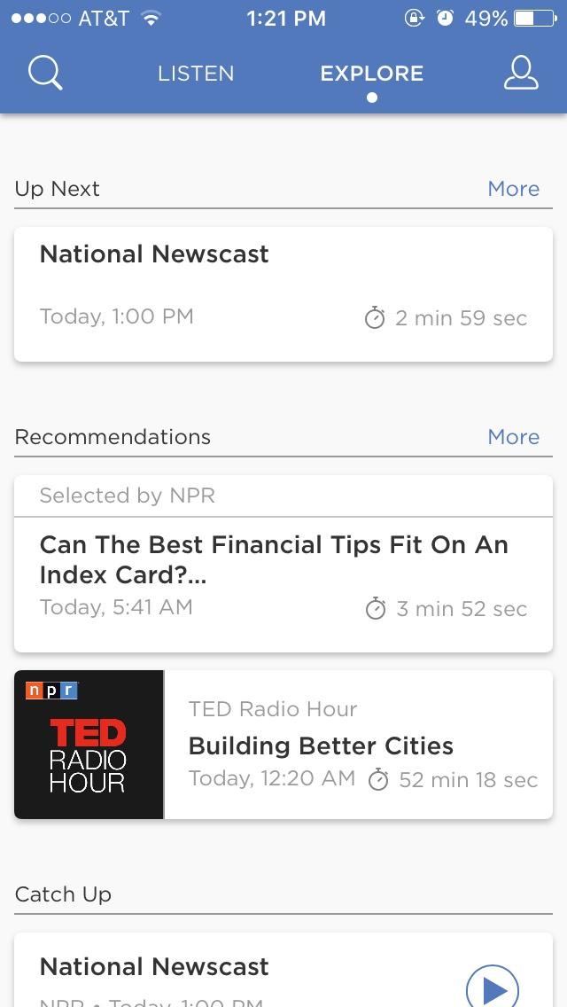 NPR-One-explore-tab-screenshot