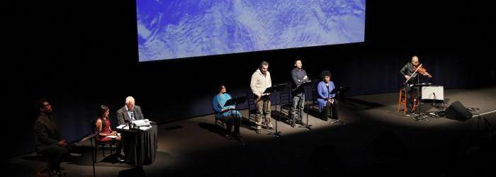Carl Hancock Rux, Daniel Bernard Roumain, Christopher Joyce, Kenny Leon