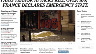 New York Times paris updates