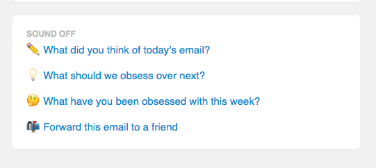 📧 Obsessing over one year of the Quartz Obsession email