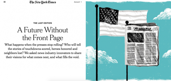 Why The New York Times is covering newspaper closures as a national story (and how local outlets can collaborate)