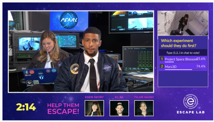 Can a science escape room livestreamed on Twitch help bring viewers to public media?