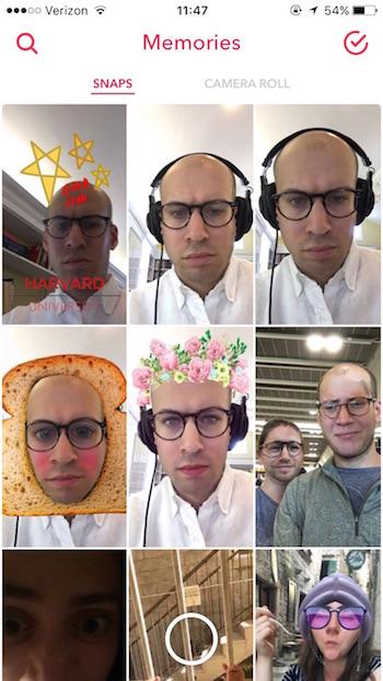 SnapchatMemories