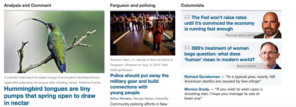 TCUS-frontpage-screenshot