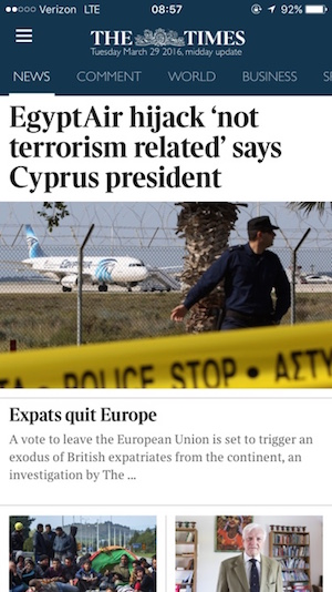 TimesApp
