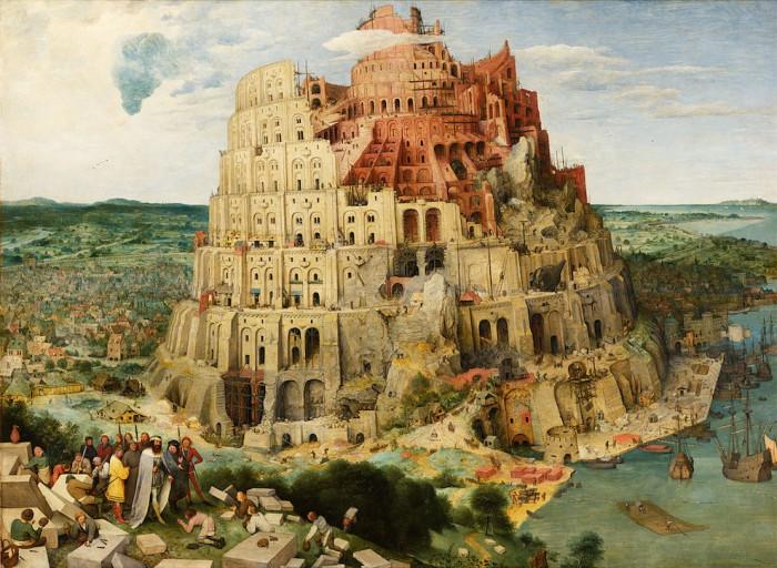 TowerOfBabel_Bruegel