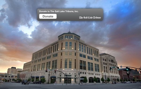Meet The Salt Lake Tribune, 501(c)(3): The IRS has granted nonprofit status to a daily newspaper for the first time