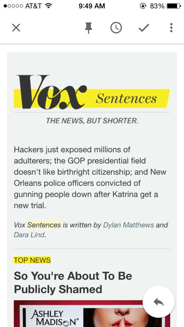 VoxSentences-screenshot