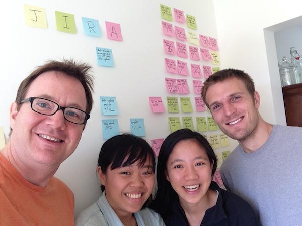 WNYC Data Team retreat