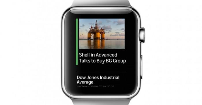 Wall Street Journal Apple Watch