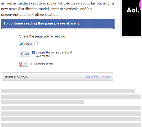 Adweek screen shot