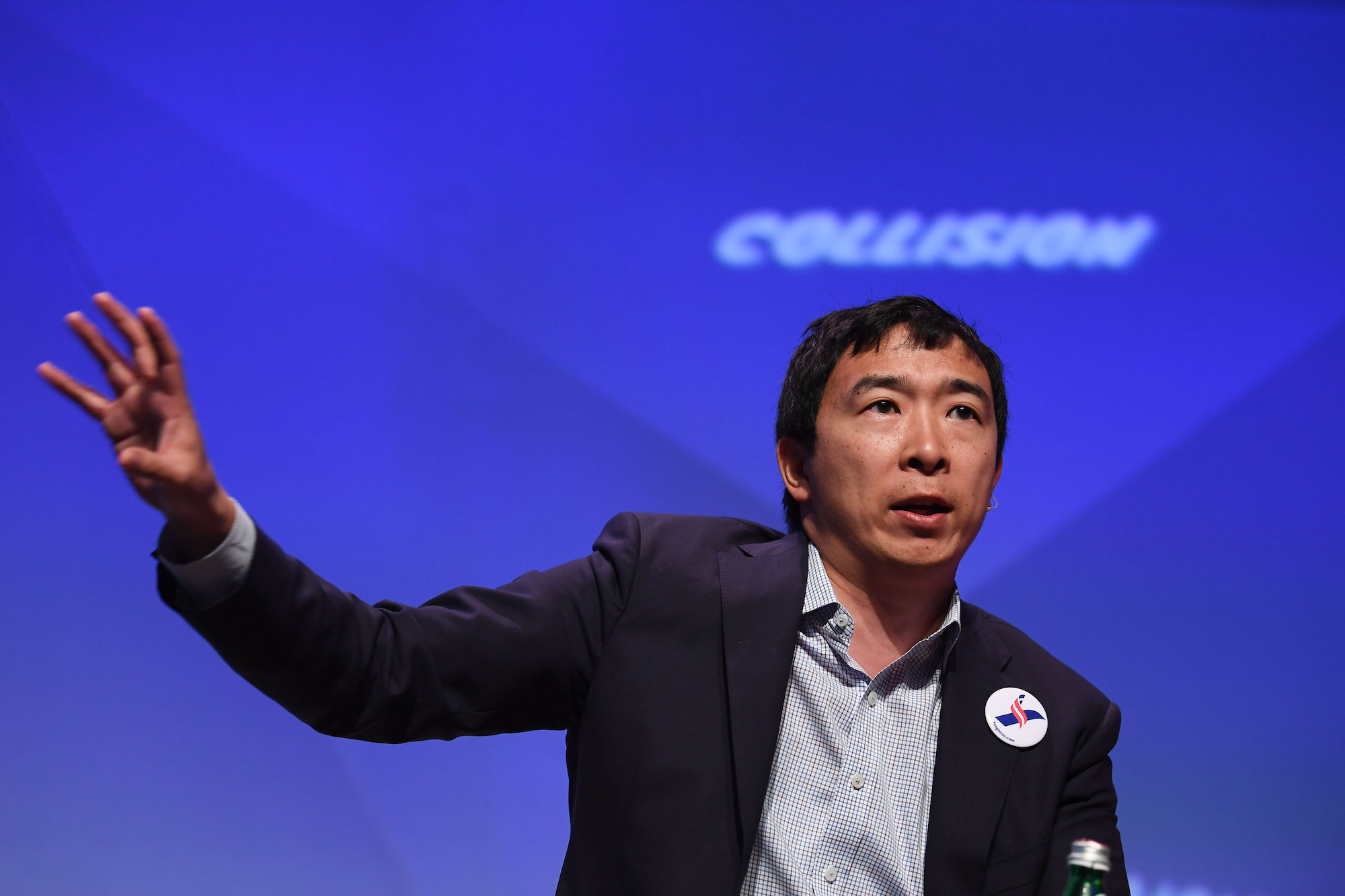 Andrew yang the most meme able 2020 candidate also wants to save journalism