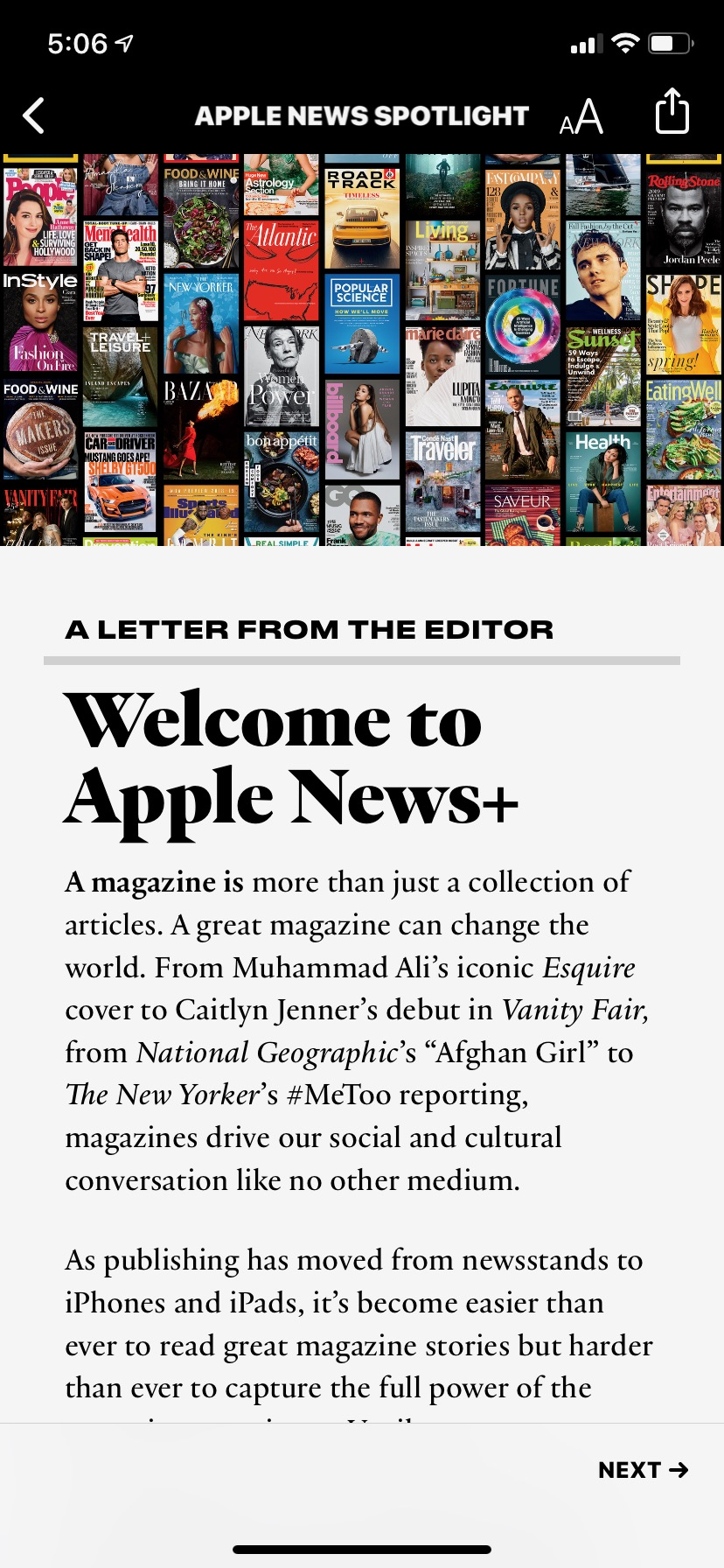 Apple News Plus is a fine way to read magazines, but a