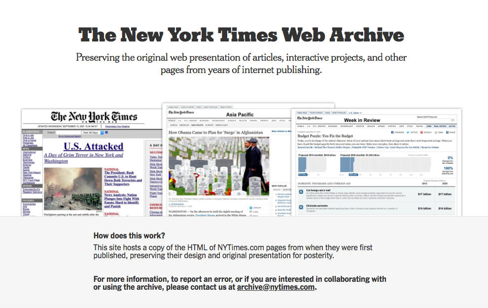 Here's how The New York Times is trying to preserve millions of old