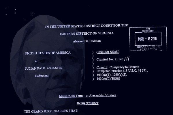 Indictment and arrest of Julian Assange