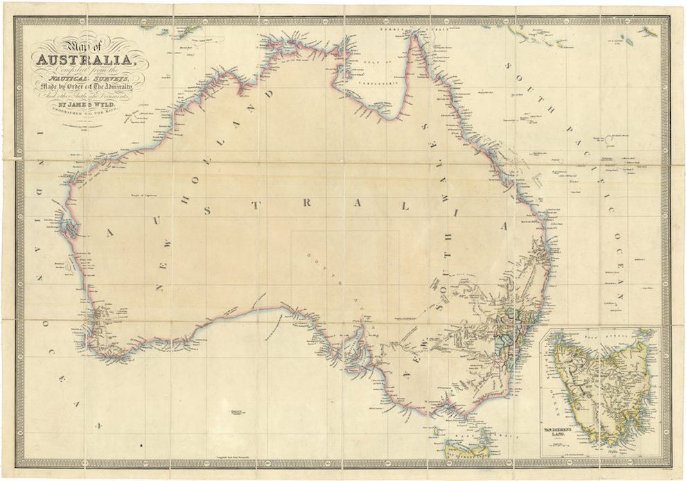 Australia Map 2017.How The New York Times Plans To Get Australia Into The Bloodstream