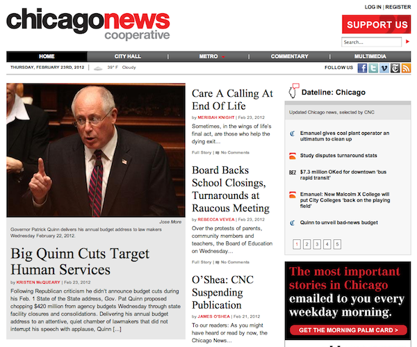 This Week in Review: A nonprofit news dead-end in Chicago, and