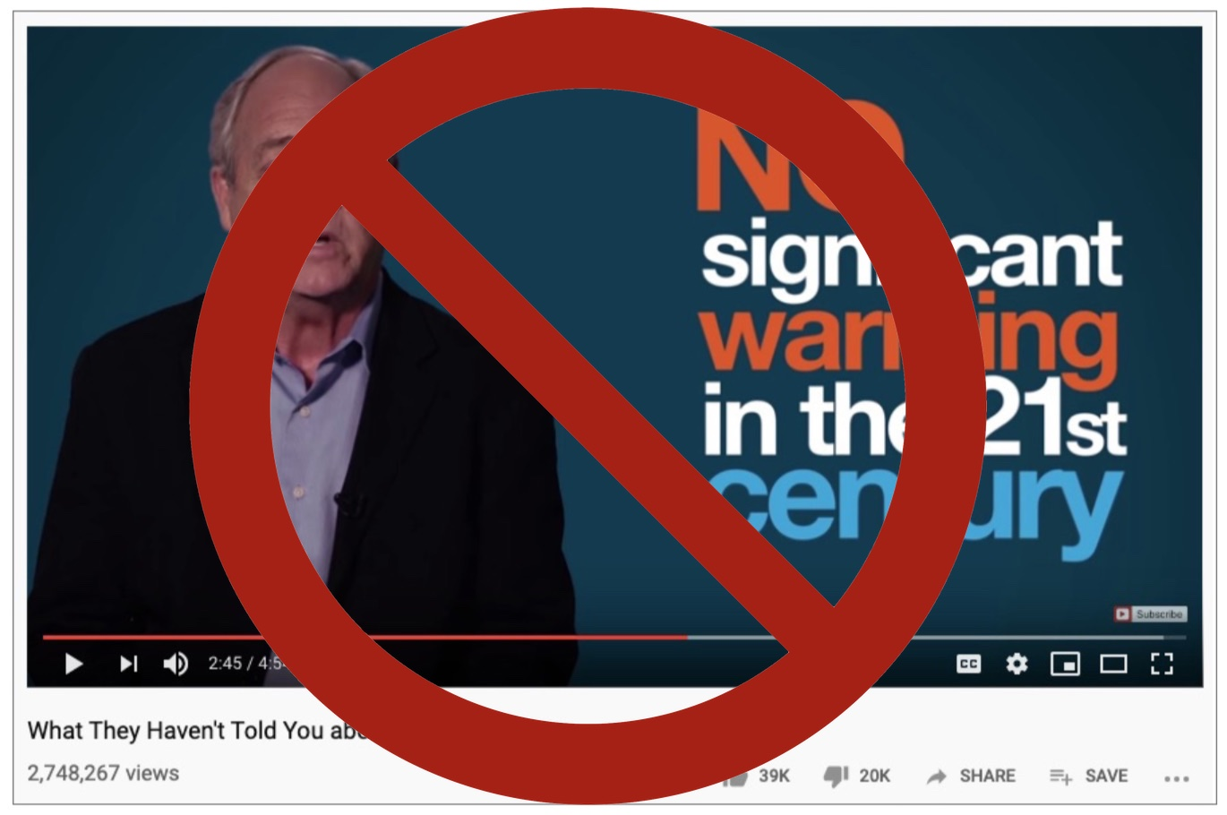 YouTube's algorithm is pushing climate misinformation videos, and their creators are profiting from it