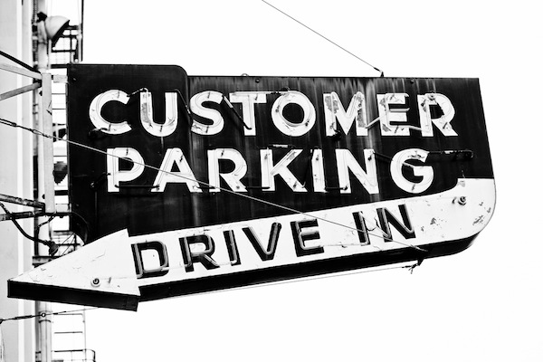 Customer Parking Drive In