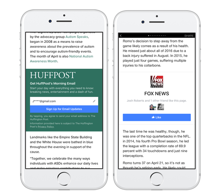 Two new features let publishers interact with readers through