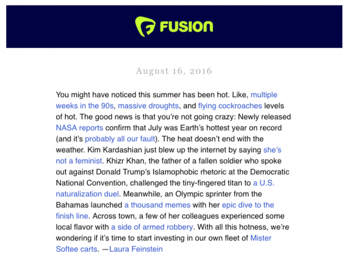 fusion-newsletter