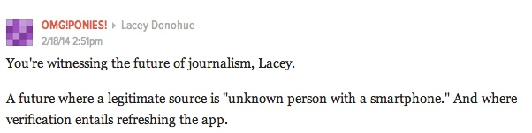 future of journalism lacey