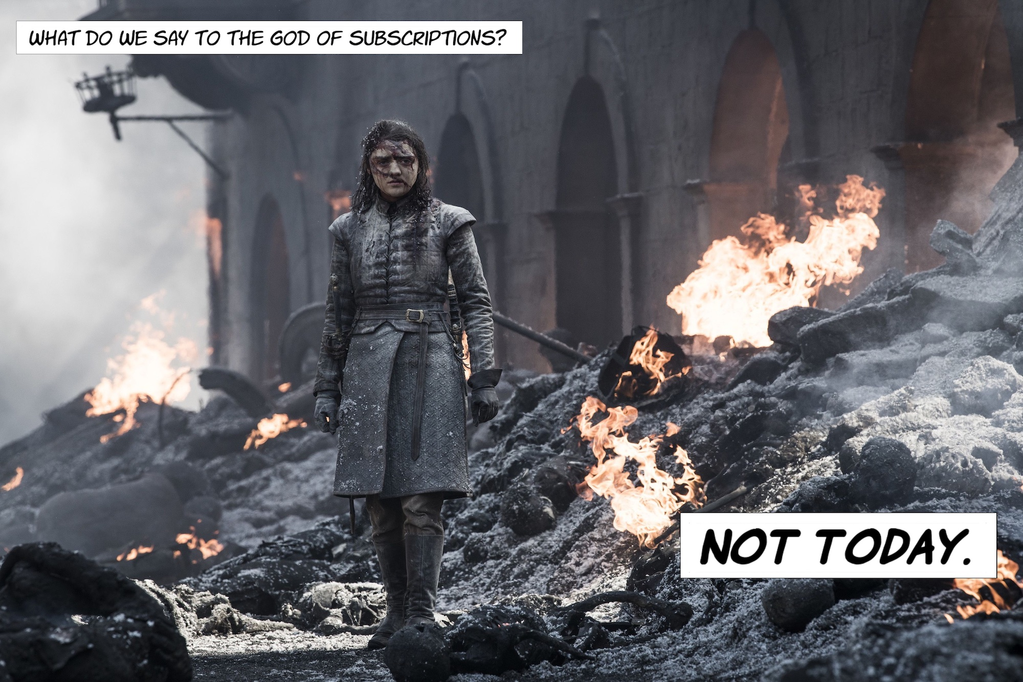 Winter may be coming for HBO's streaming subscriptions, but