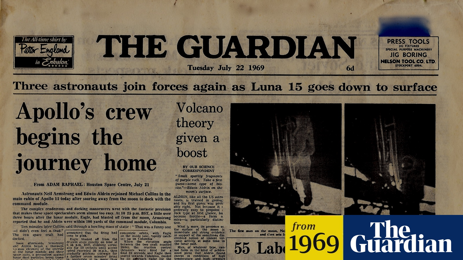 The Guardian's nifty old-article trick is a reminder of how news