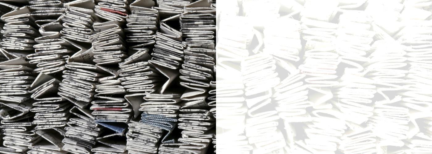 half-newspapers