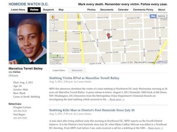 Homicide Watch D.C. screen shot