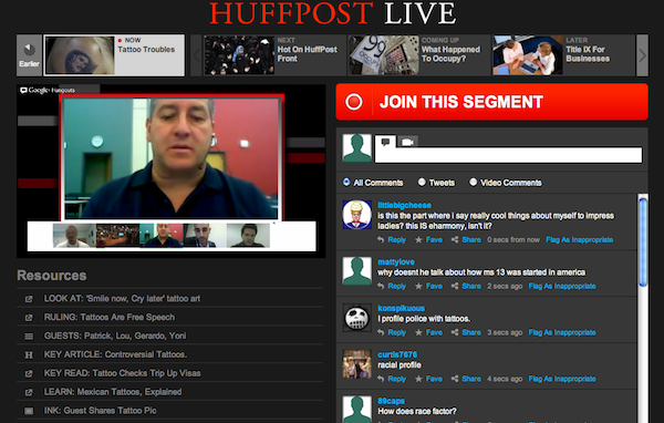 Live Broadcast Why The Huffington Post And Are