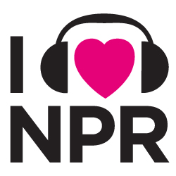 I Heart NPR logo