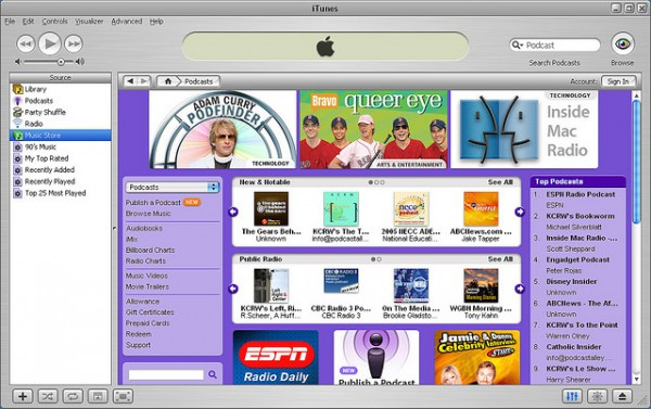iTunes 4.9 screen shot