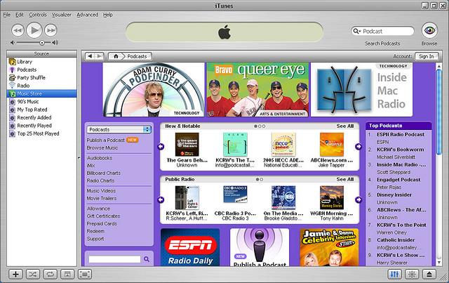 iTunes 4.9 screen shot