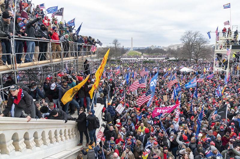 Mob storms Capitol.