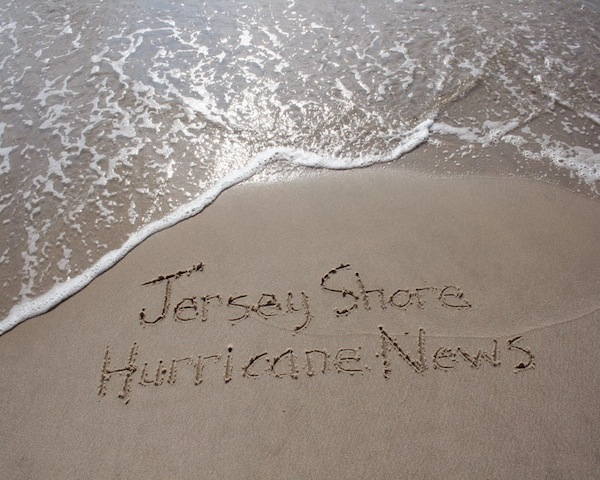 jersey shore hurrican news