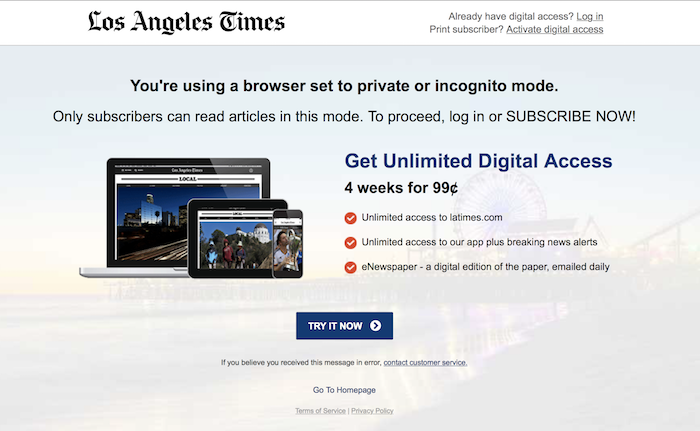 Your favorite way to get around The New York Times paywall