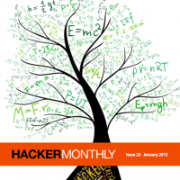 Hacker Monthly cover