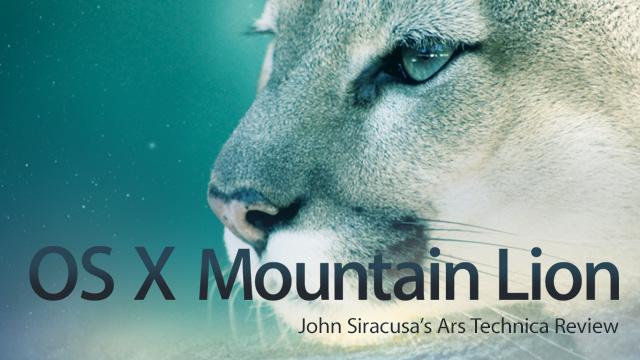 Mountain Lion review
