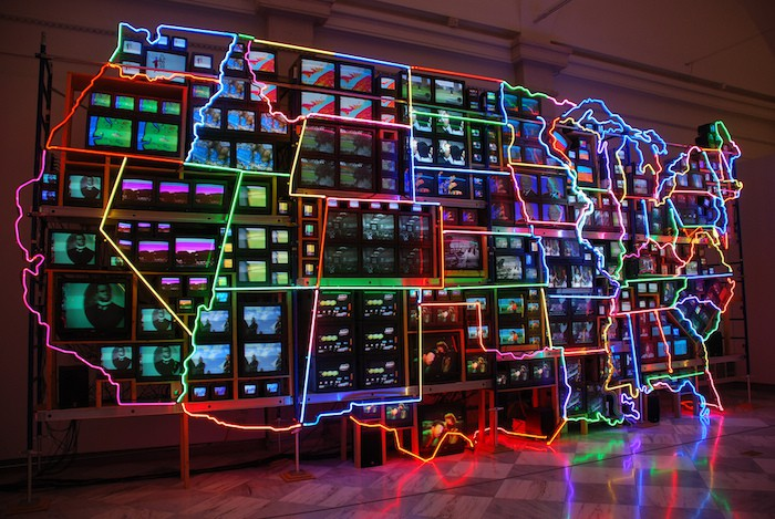 nam-june-paik-us-map-cc