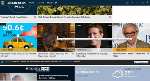 NBC News puts more emphasis on original digital video in its relaunch of NBCNews.com