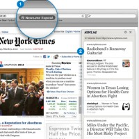 The News. me bookmarklet