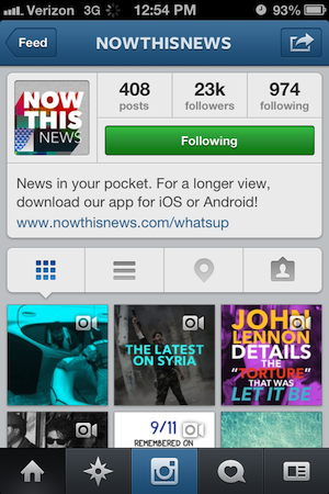 nowthisnews instagram